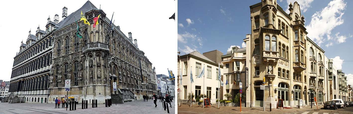 City Hall Ghent + NH Belfort